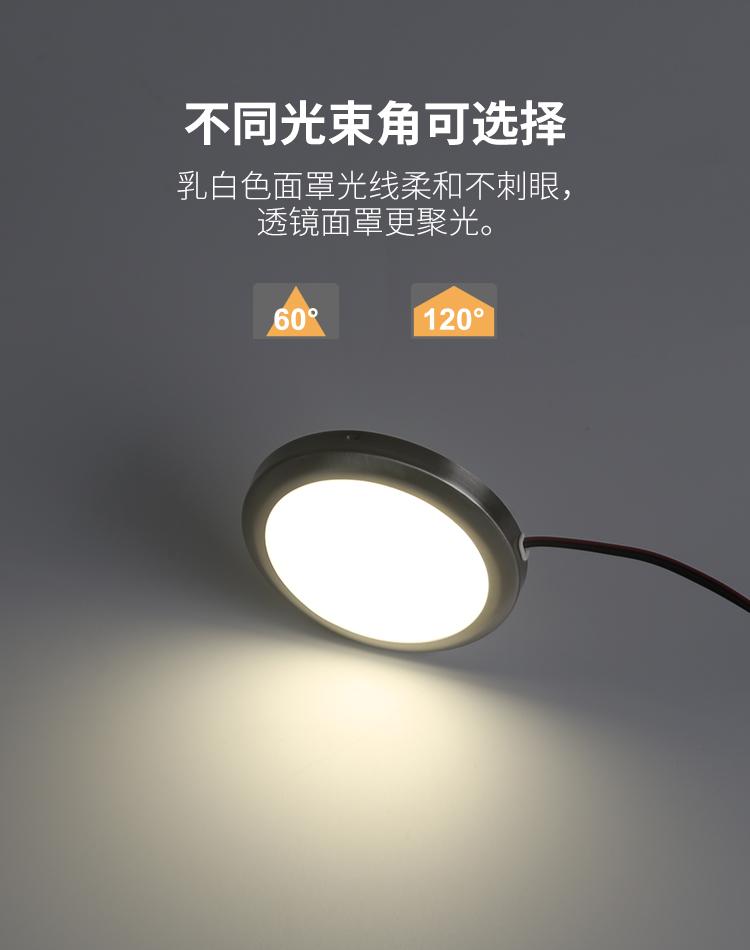 明装面罩型橱柜灯